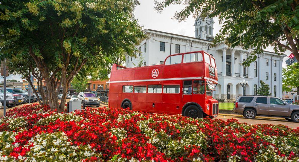 Double Decker Bus Oxford Conference Center